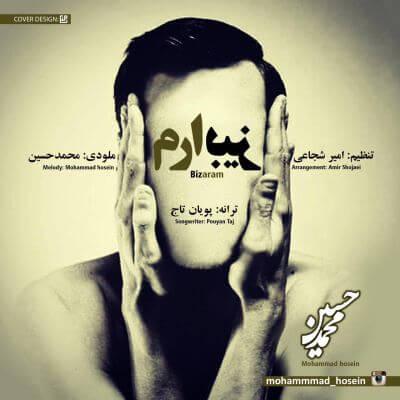 دانلود آهنگ بیزارم از محمدحسین