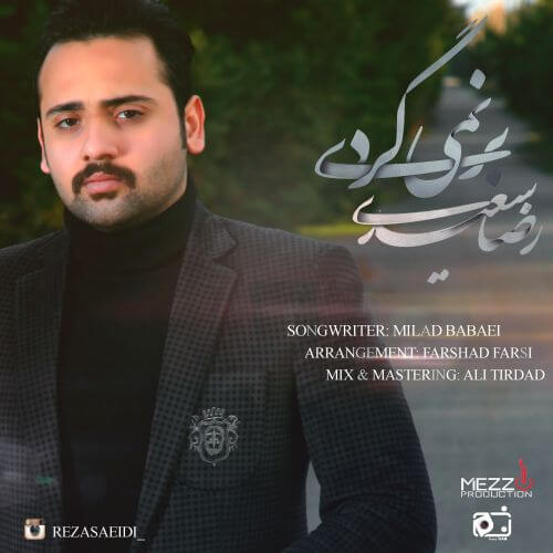 دانلود آهنگ جدید رضا سعیدی